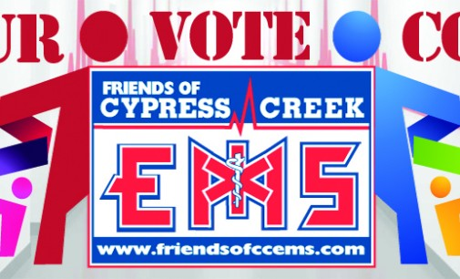 Your VOTE Counts!  Support CCEMS