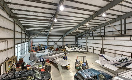 Live On The Runway of Hooks Airport For Just $3.5 MILLION