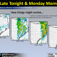 Large Hail, Damaging Winds & Isolated Tornadoes Possible Sunday Night – Monday