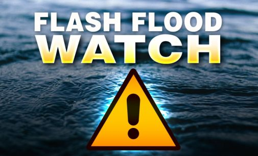Flash Flood Watch Issued Prior To Overnight Storms