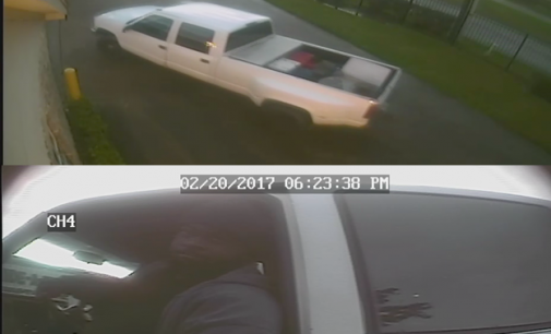 HCSO Auto Theft Seek Identity Of Male In Trailer Thefts