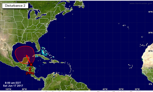 Tropical Depression Or Storm Likely To Form In Southern Gulf Of Mexico Early Next Week