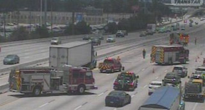 Hazmat Incident Closes I-45 Near FM 1960