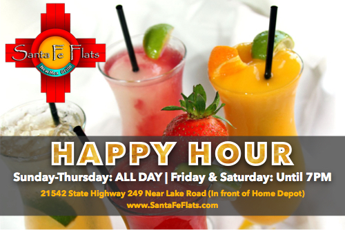 Santa Fe Flats Happy Hour