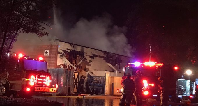 Vacant Black-Eyed Pea Building on 1960 Burns To Ground