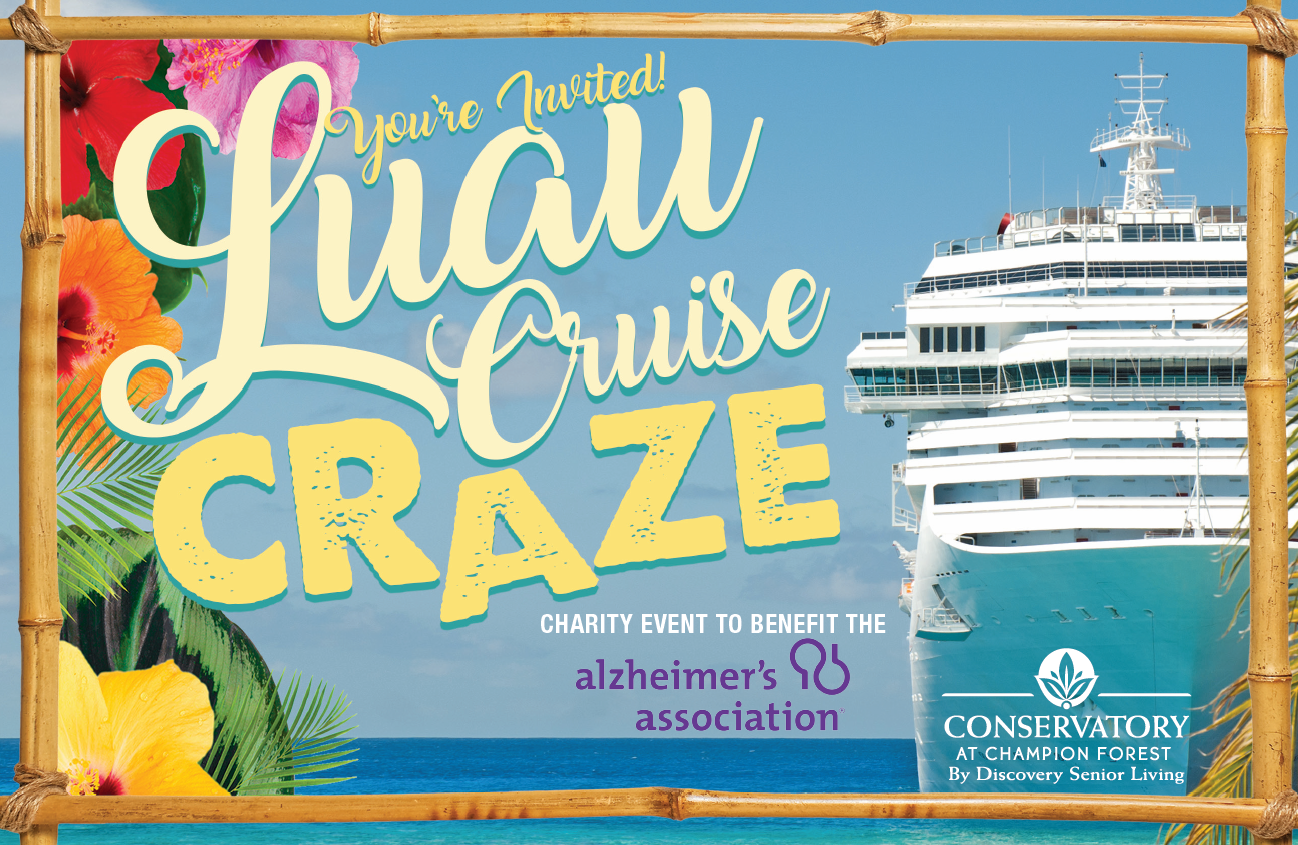 Conservatory Senior Living Luau Cruise
