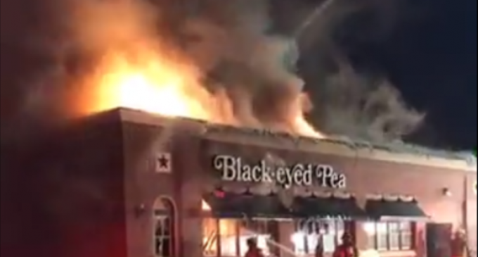 LIVE VIDEO: Working Fire At Vacant 1960 Black Eyed Pea