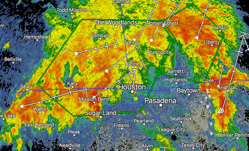 Flash Flooding Is Occurring; Up to 6 Inches Has Fallen In Parts Of Harris County